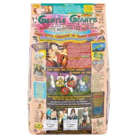 Pets Dry Dog Food Dog Food Recipes Gentle Giant