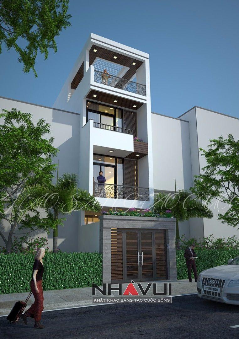 Nhà phố 4 có bán hầm an phú quận 2 nhà vui modern exterior