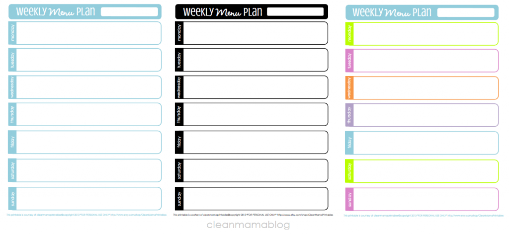 bi weekly planner