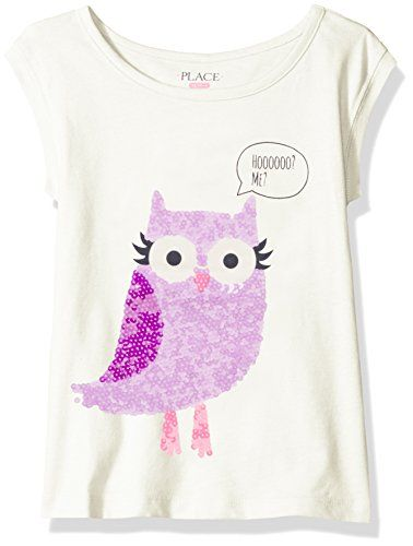 The Childrens Place Girls Sleeveless Printed Fashion Top