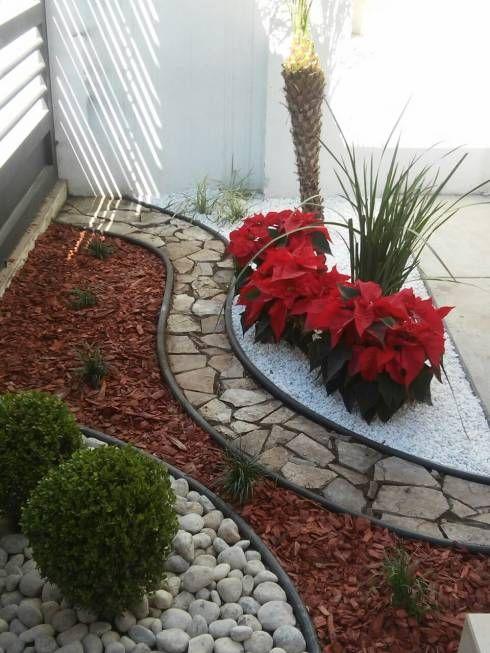 Disenos De Jardines Jardines De Estilo Moderno Por Vivero Cumbres - Jardines-pequeos-modernos