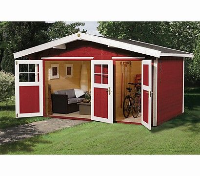 Weka Gartenhaus 261 my dream space Storage shed kits