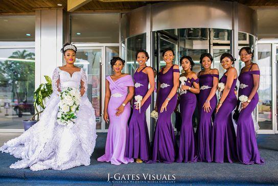 Opulence Grandeur See Agoziem Obi S Purple Themed Wedding