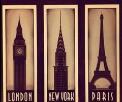 London New York Paris