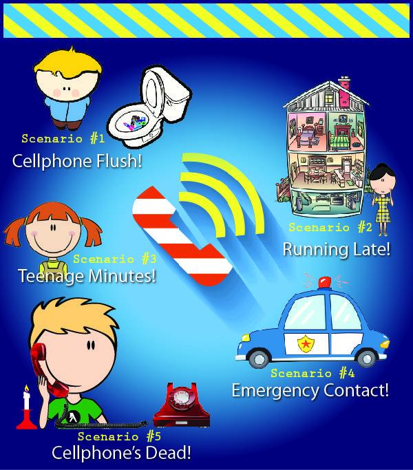 landline vs cell phone