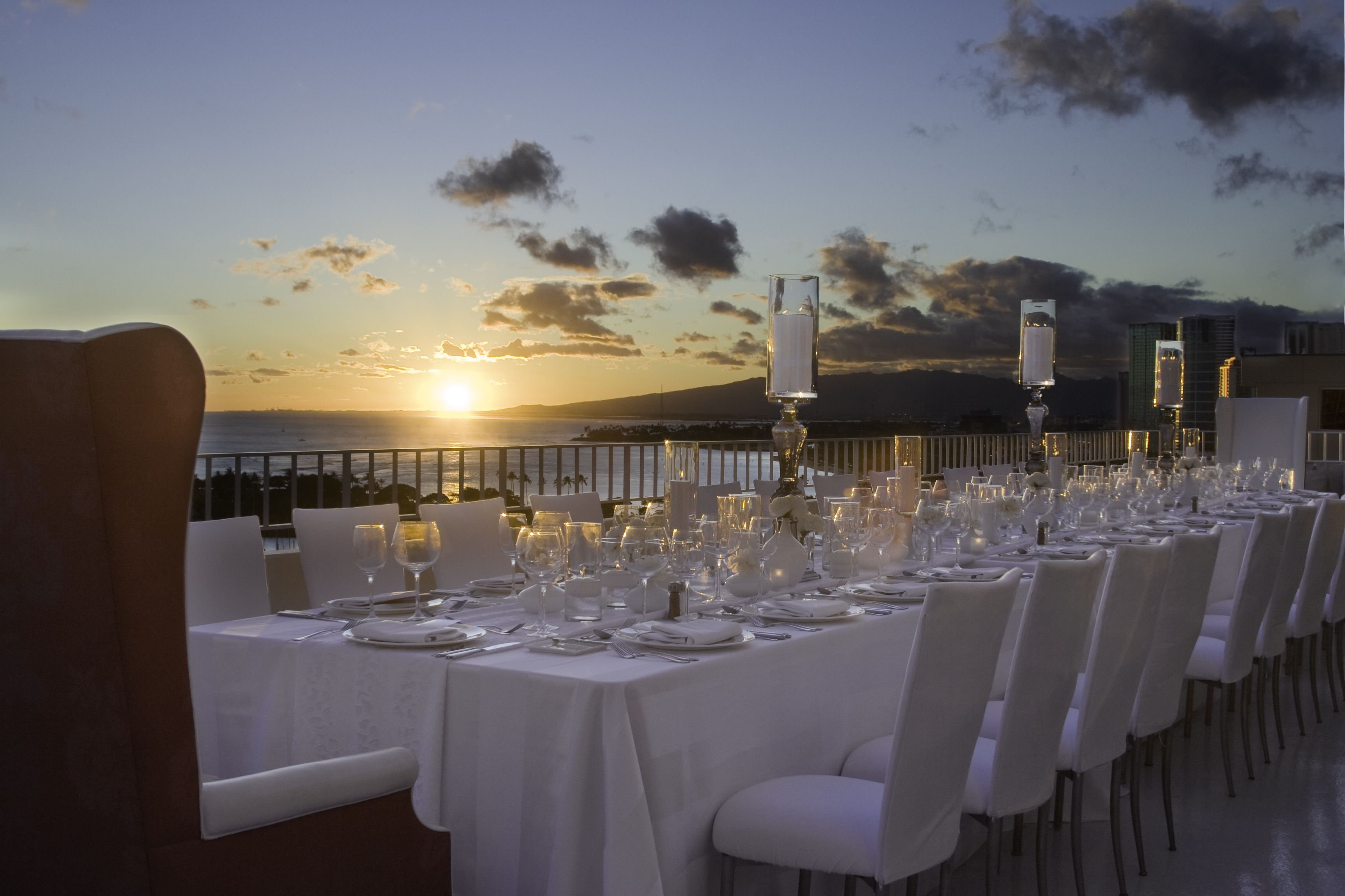 Luxurious Penthouse Wedding Reception at THE MODERN