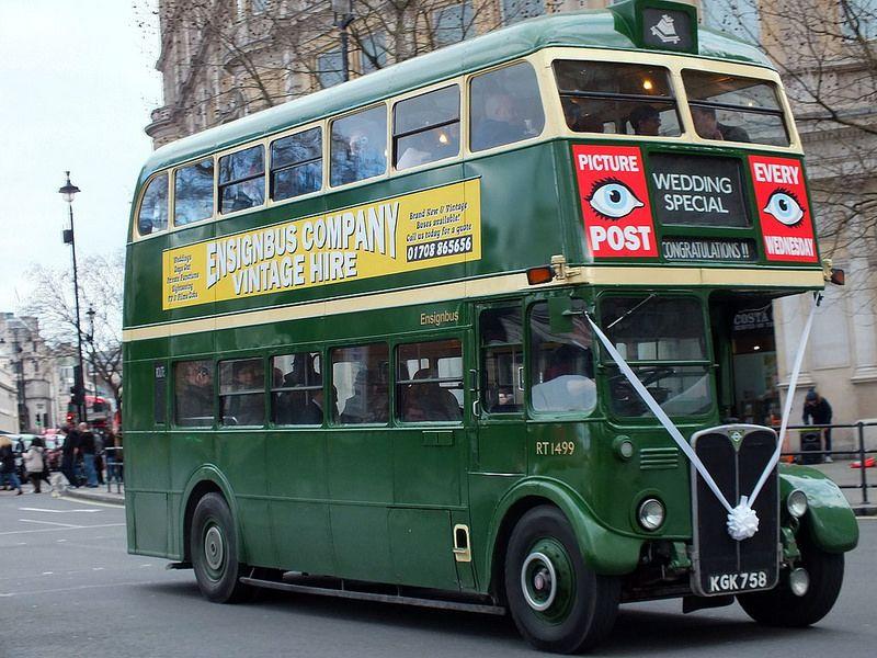 Ensignbus Rt1499 Kgk758 Bus Coach Routemaster Bus Station