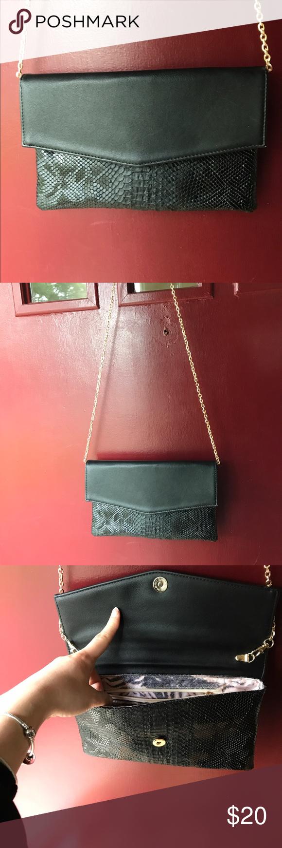 Urban Expressions Snake Print Cross Body Bag