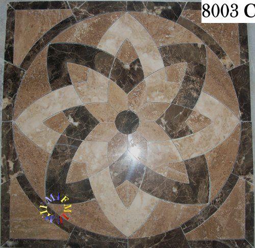 Floor Marble Medallion Mosaic Tile Inch Flooring Medallions - 36 inch marble tile