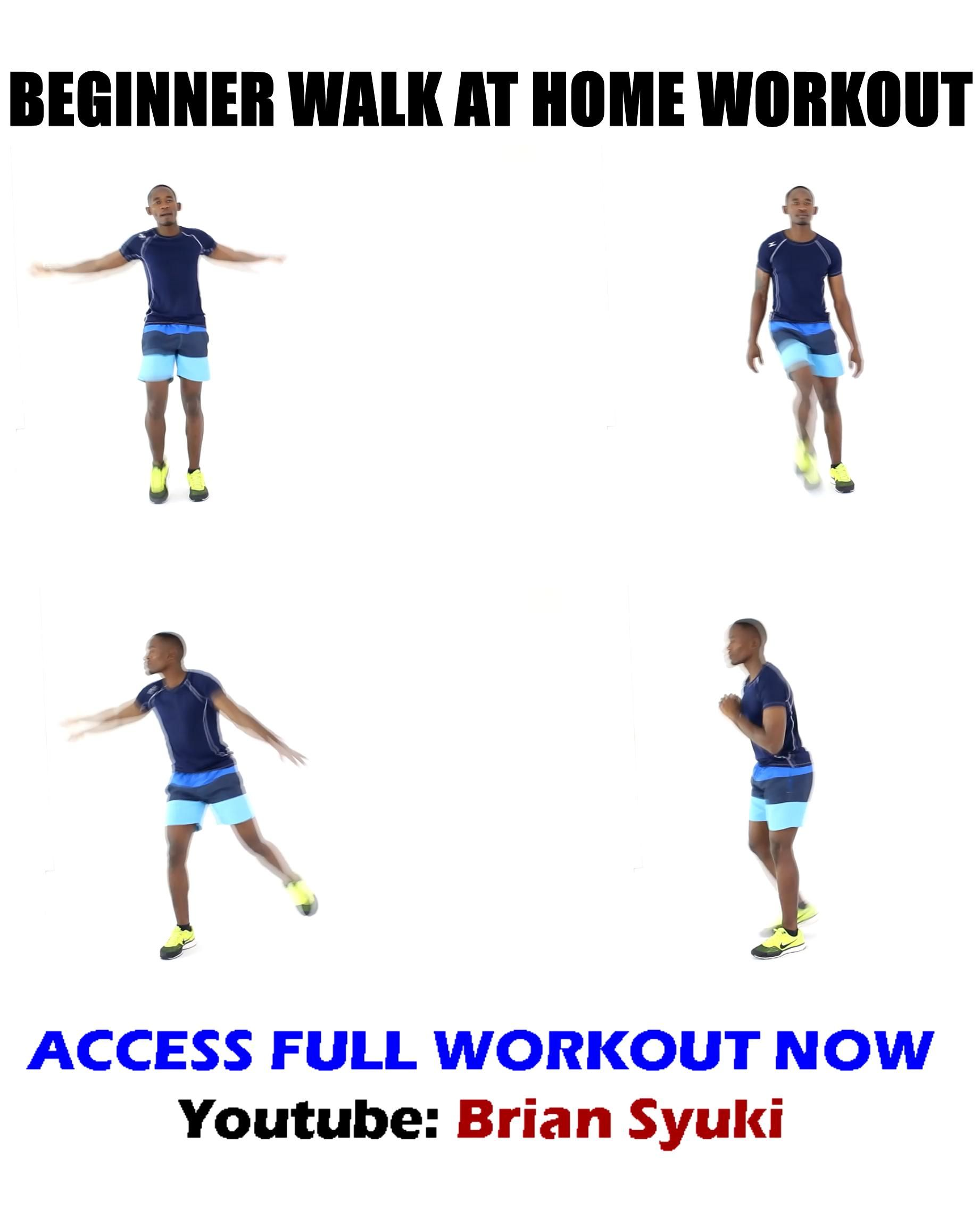 Beginner Walk At Home Workout For Seniors Video In 2020 Gym Workout For Beginners Beginner Workout At Home Workout Videos