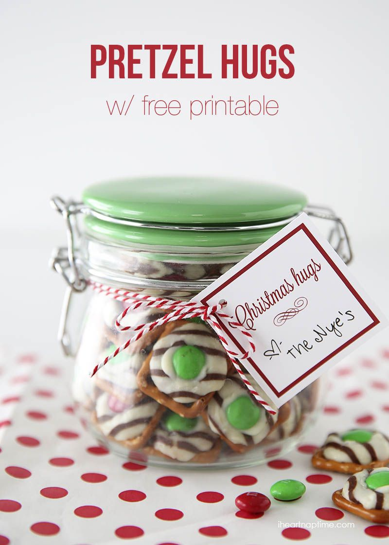 Rolo and hug pretzels free printable recipe nap times best