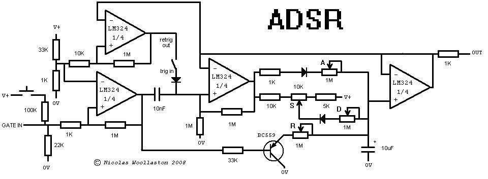 adsr schematic