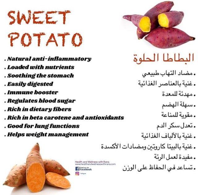 البطاطا الحلوة Health Food Nutrient Dietary Fiber