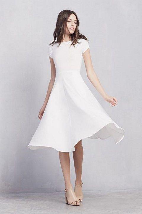 Vestido blanco para mujer