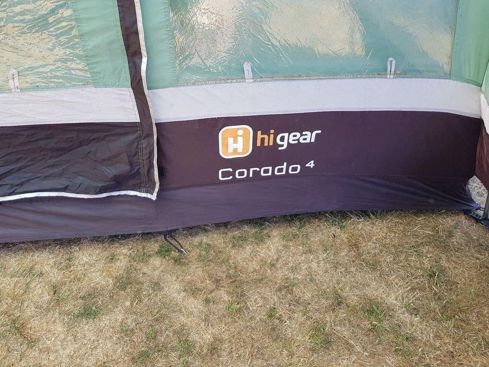 Hi Gear Corado 4 Tent Camping Slightly Used Condition ...