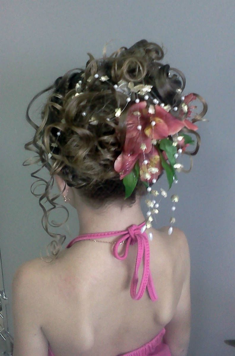 Beautiful flower girl hairstyles girl hairstyles pinterest
