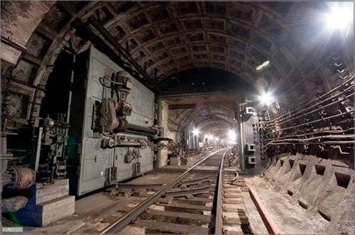 Metro 2 Is A Secret Underground Tube System Which Runs Parallel