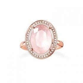 Thomas Sabo Jewellery Rose Gold Plated Ring Thomas Sabo Jewelry