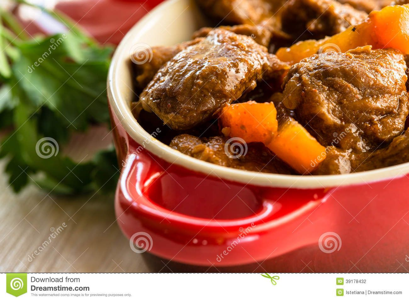 Beef Stew With Carrot - Download From Over 29 Million High Quality Stock Photos, Images, Vectors. Sign up for FREE today. Image: 39178432