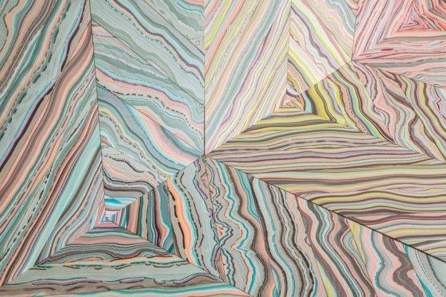 Refraction, il parquet in legno con l'effetto arcobaleno  Leggi il post: