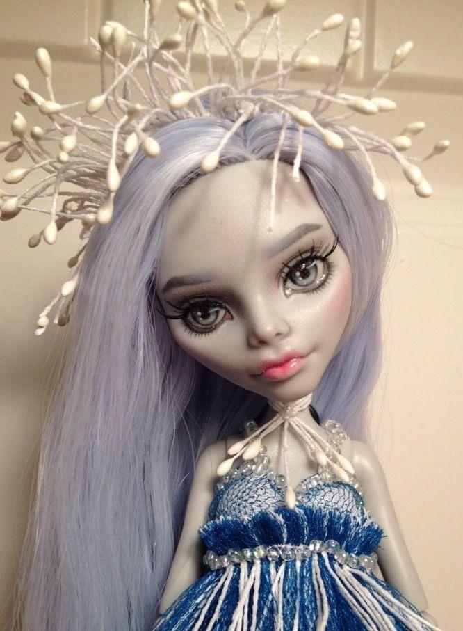Monster High Ghoulia Ooak Custom Repaint Reroot By Olga Vyskrebtseva (Kroll4Ik)