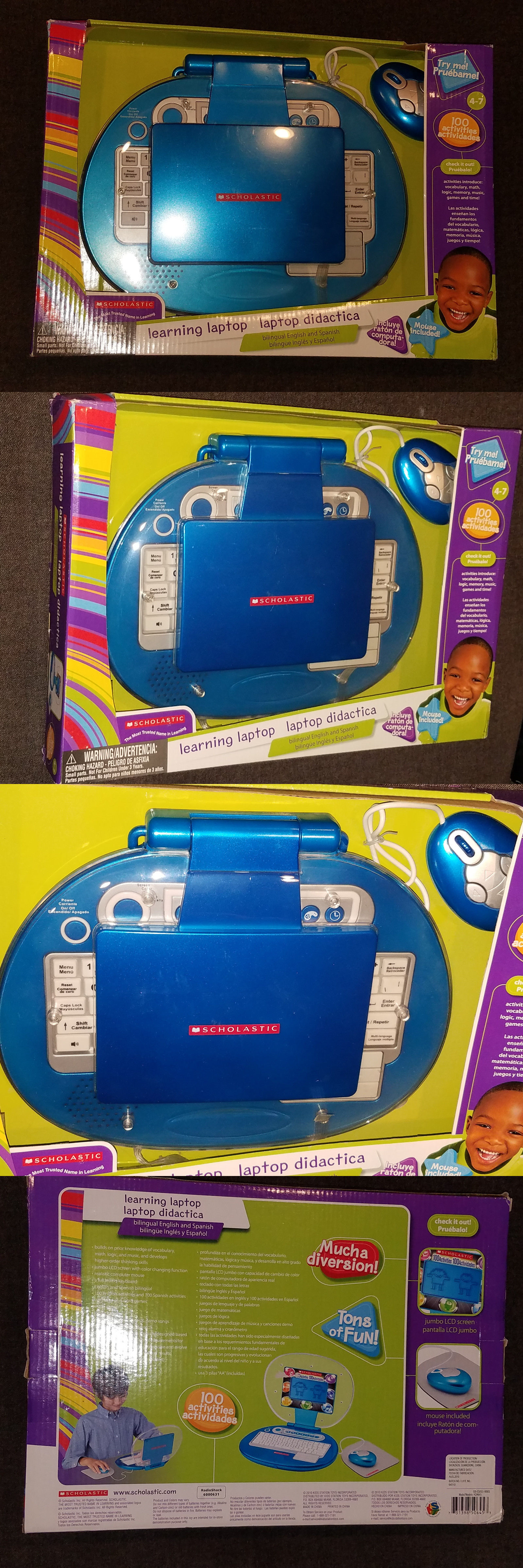 Learning Systems Scholastic Learing Laptop Kids Childrens