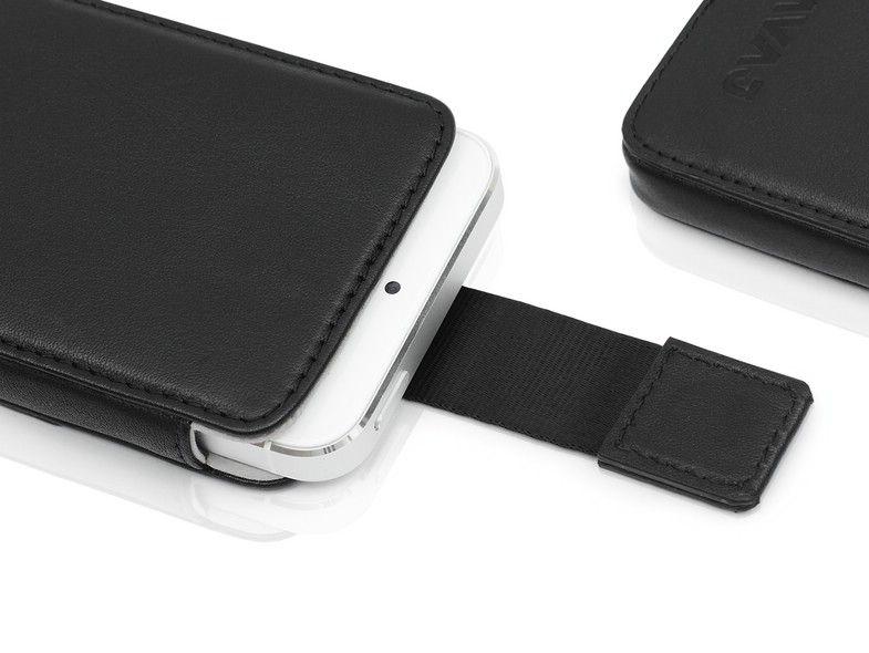 """iPhone 5 Tasche """"Miami"""" schwarz   KAVAJ"""