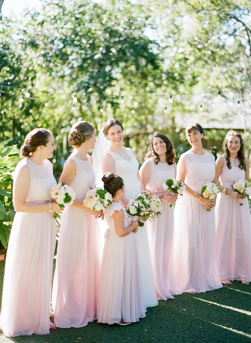 Pink Bridesmaid Dresses From Sweeer Branch Inn Wedding Http Www Trendybride
