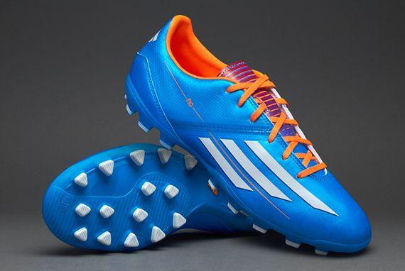 adidas F10 TRX AG - Blue/White/Zest