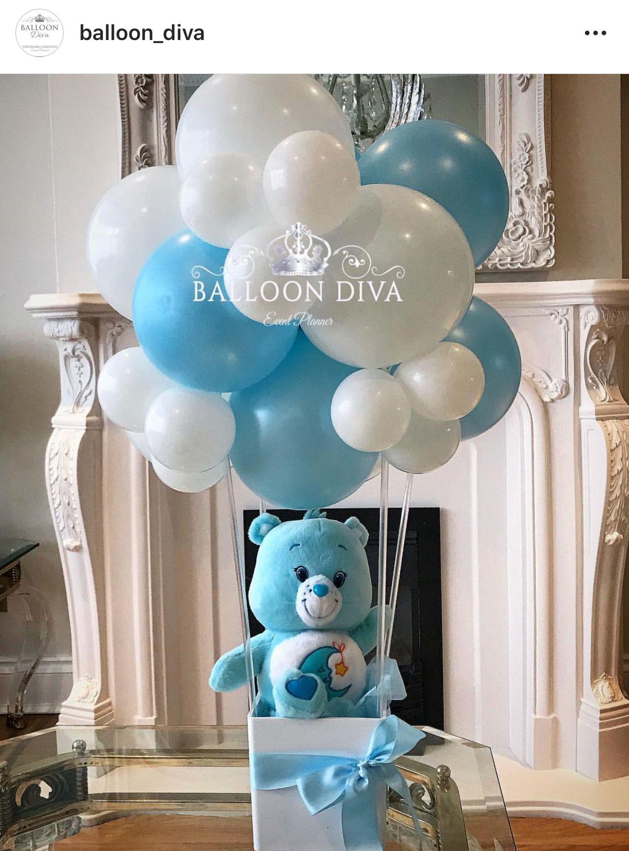 Care Bear Hot Air Party Balloon Idea Centros De Mesa De