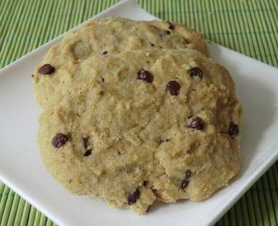 Cookies au thé vert matcha sans gluten et sans lactose