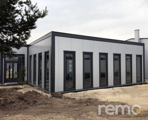 Warehouse and office hall |  Manufacturer of REMO sandwich panels