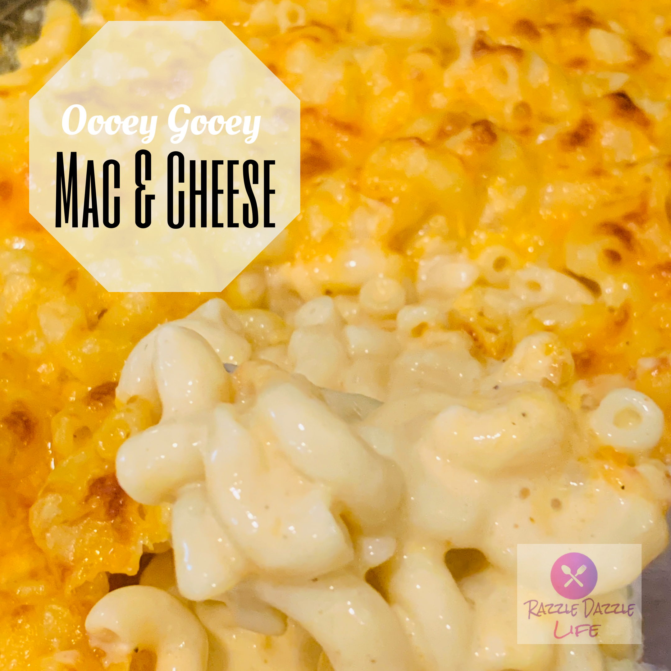 Perfectly cheesy, creamy southern macaroni and cheese, just