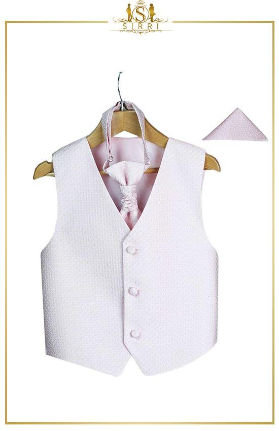 Hochzeitsweste mit Krawatte und Taschentuch für Kinder ...