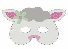 Image Result For Sheep Mask Template