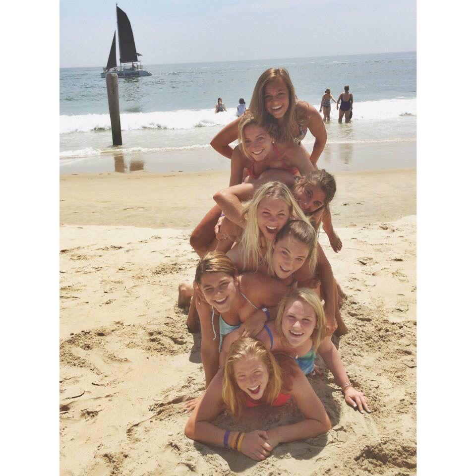 senior week sistas cute beach pics, senior week 2014 , ocean city