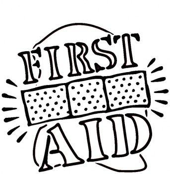 first aid coloring page girl scout badge pin - Aid Coloring Pages Kids