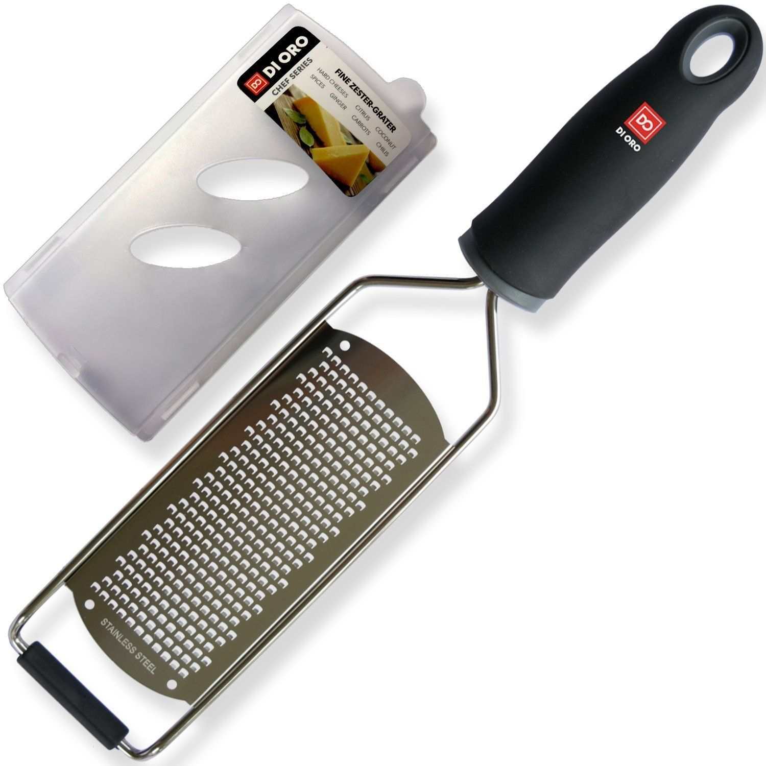 Amazing Quality and Versatile Use! Chef Kitchen Zester Tool Black