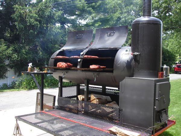 pictures of custom bbq smokers and barbeque grills