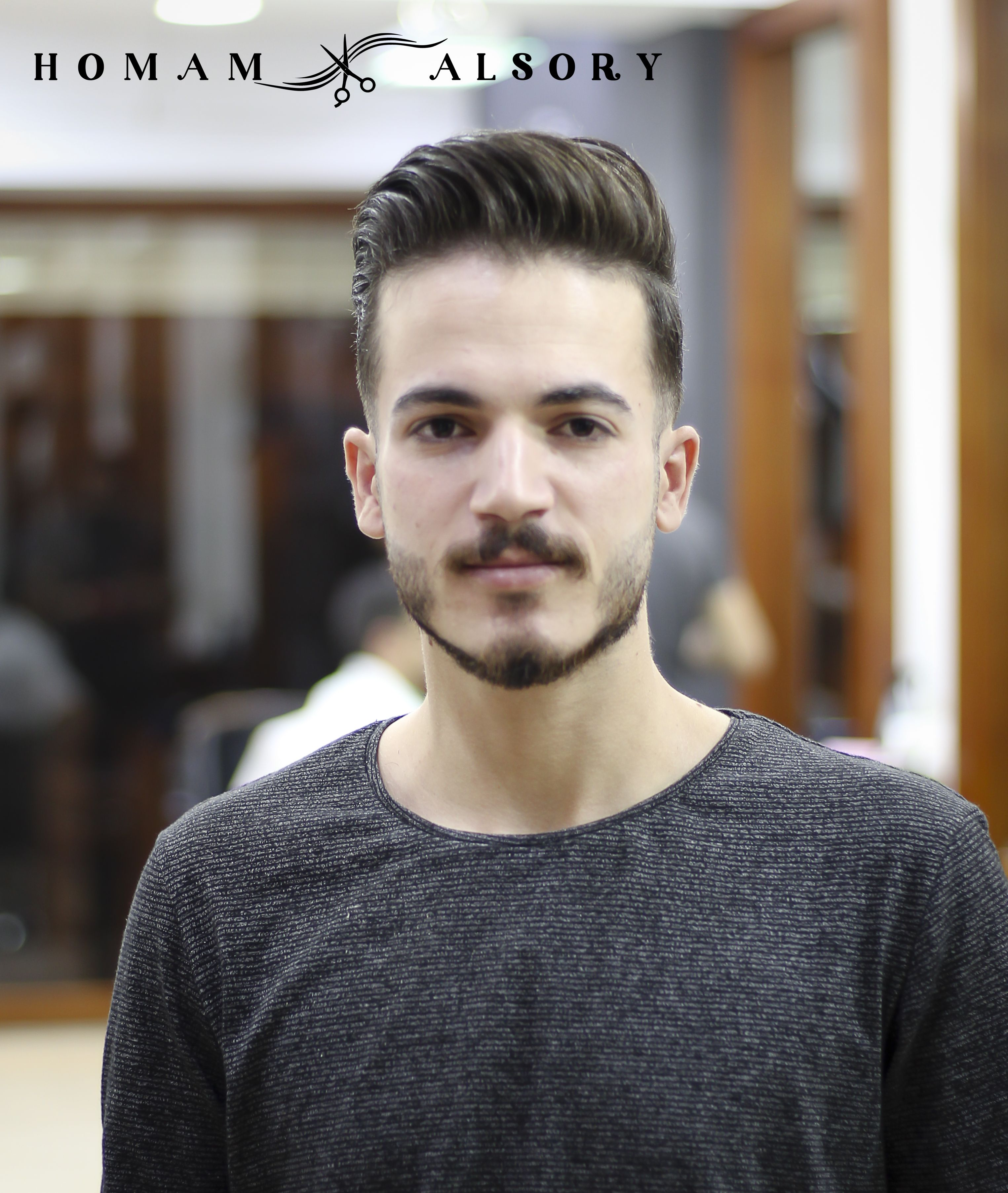 قصات شعر 2019 صالون حلاقة ومركز تجميل همام السوري الاسكندرية سموحة Men Sweater Fashion Sweaters