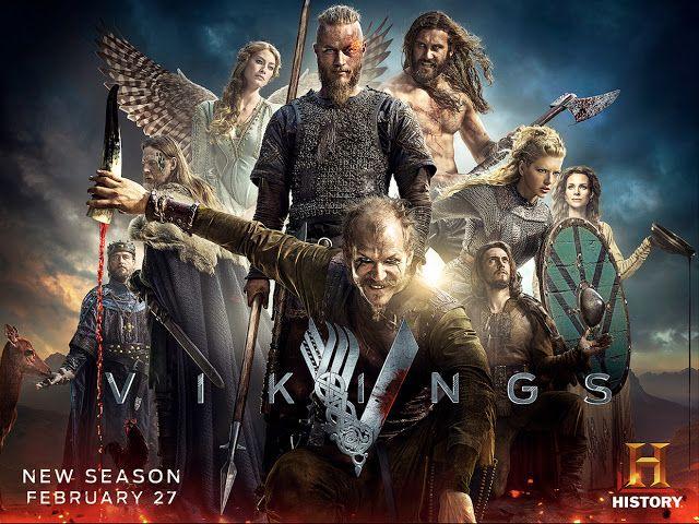 Serie Vikings 2ª Temporada Com Imagens Vikings Viking