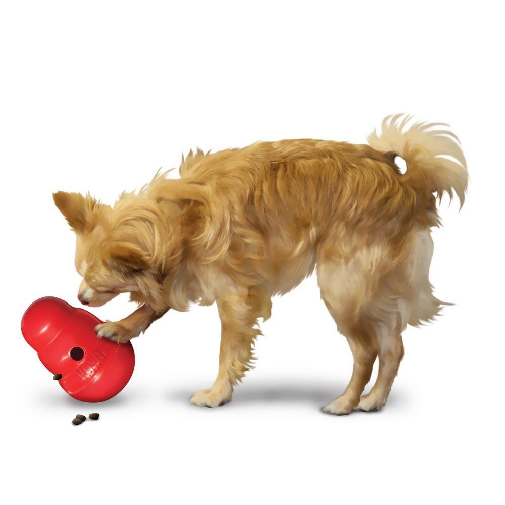 Kong Wobbler Treat Dispensing Toy Large Dog Toys Best Dog