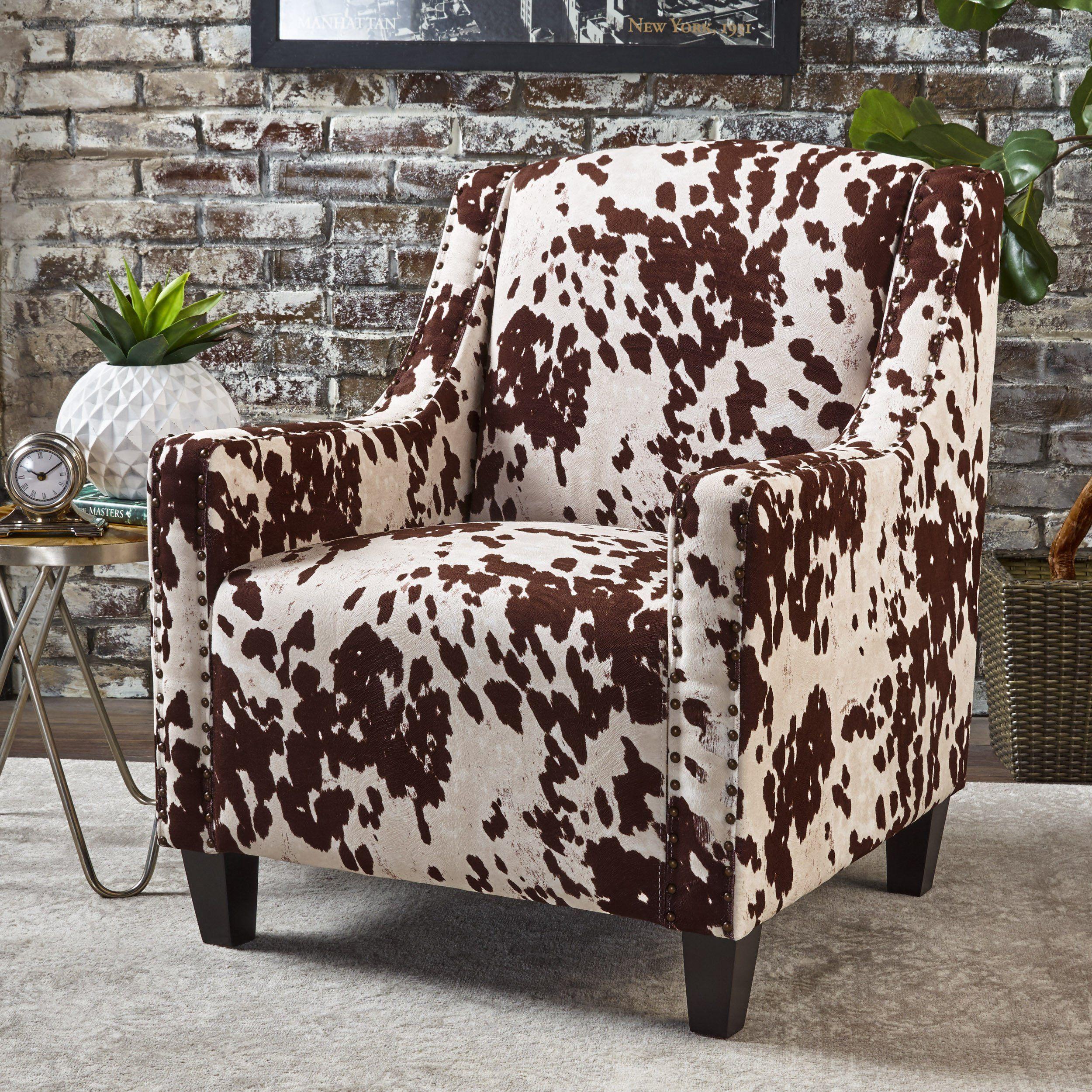 Equestria studded new velvet club chair living room