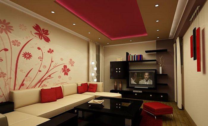 woonkamer verf voorbeelden - woonkamer + keuken | pinterest, Deco ideeën
