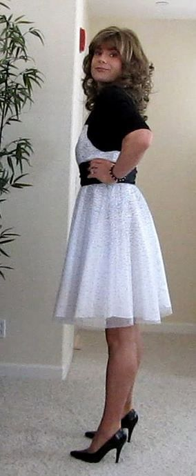Free young transvestite baptism dress