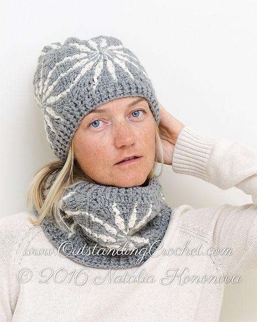 Polar Star Hat & Cowl Set by Natalia Kononova   3 шапки   Pinterest