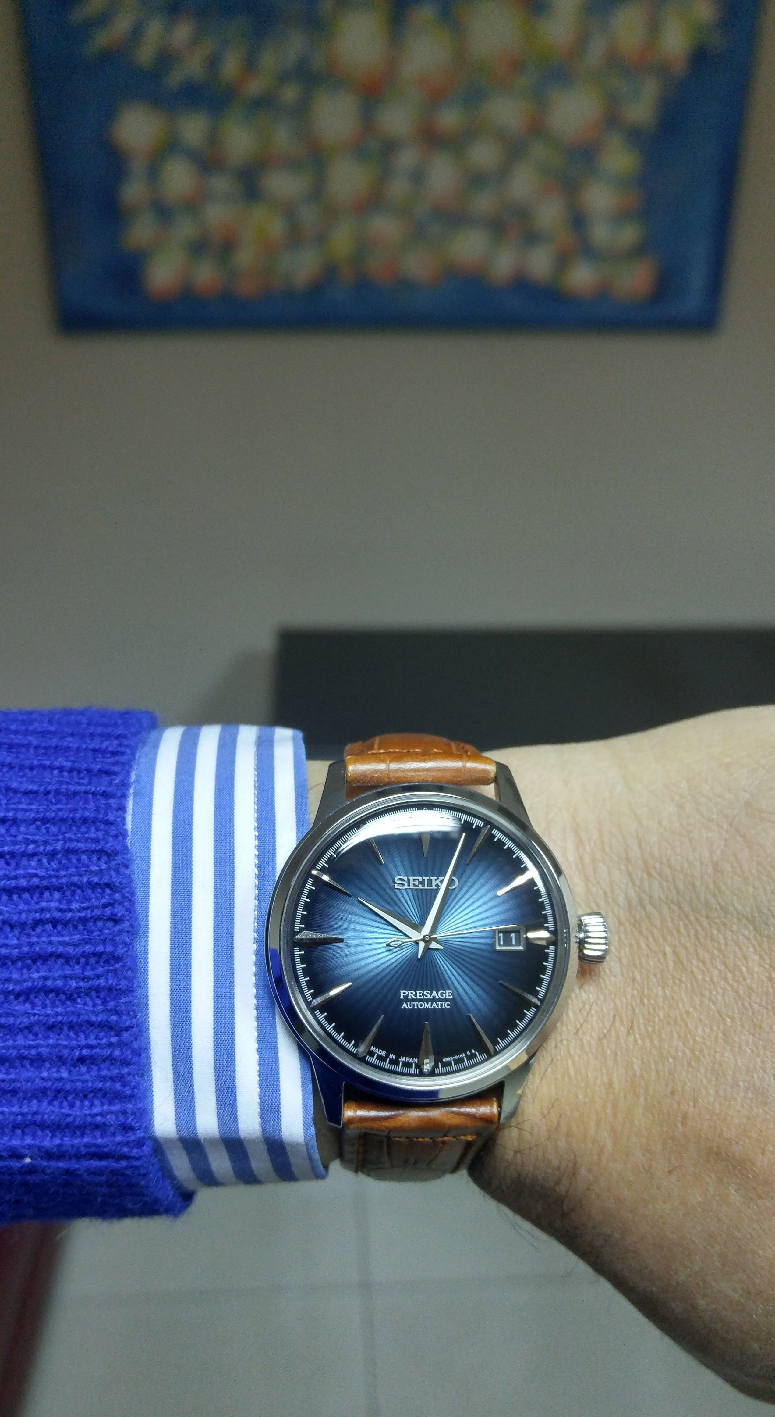 87b3ef691 Seiko SRPB41 Seiko Presage, Seiko Watches, Breitling, Fashion, Omega Watch,  Clocks