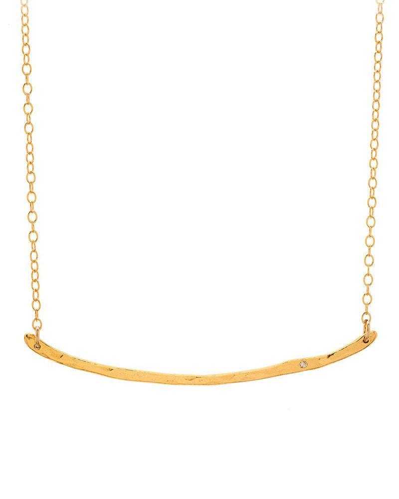 Gorjana Diamond Taner Bar Necklace Bar Necklace Gorjana Online Jewelry Boutiques