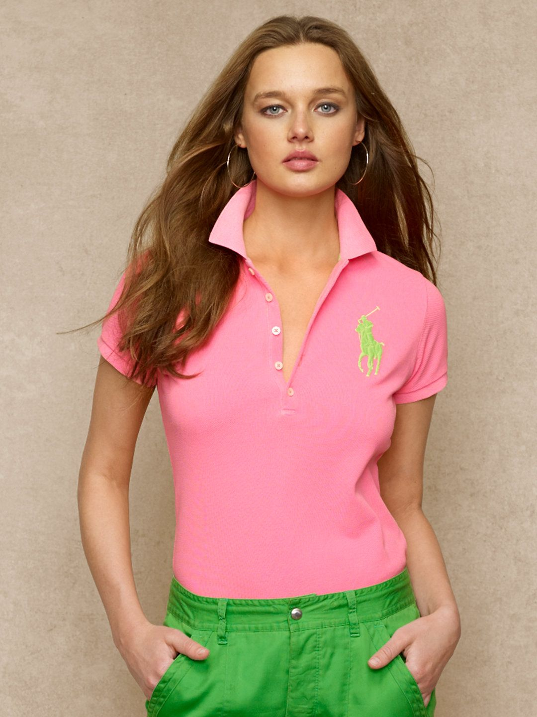 93b397d1 Skinny-Fit Big Pony Polo -RalphLauren.com   1908 By Merit and ...