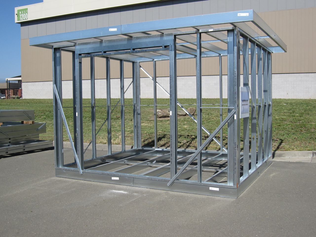 Metal Frame Small House